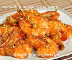 Halabos na Hipon   Filipino Style Recipe