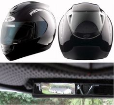 MSX1 – the world's first patented rear-view helmet