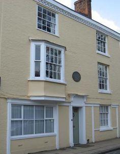 House on College Street in Winchester where Jane Austen died.
