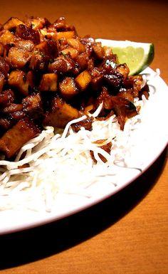 Mindennapi ételeink: Szójaszószos tofu Seitan, Kung Pao Chicken, Tofu, Ethnic Recipes