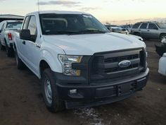 Salvage 2017 Ford F150 Super  Pickup For Sale | Clean Title