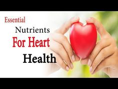 Essential Nutrient For Heart Health  According to the World Health Organization, the number one cause of death in the world are cardiovascular diseases. Many times we take our cardiovascular health for granted and think that it is something that only older people should worry about. #nutrition     #diet     #lifestyle    #cardio   #health    #fitness
