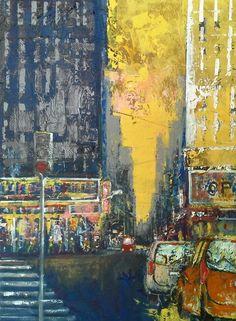 Urbanscape mixed on mdf cm Luigi Torre painter 2015 Luigi, Painting, Art, Mixed Media, Art Background, Painting Art, Kunst, Paintings, Gcse Art