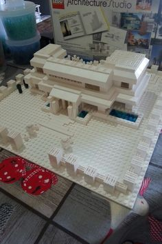 My first lego architecture studio house