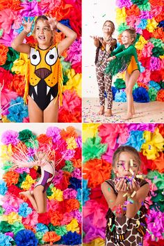 Love these images! bold bright and perfect colours for my trend!