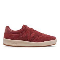300 New Balance Women's Court Classics Shoes - Red (WRT300WB)