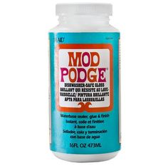 This is safe for use in the top rack of the dishwasher. For over 42 years, crafters have trusted Mod Podge as the all in one glue sealer and finish of choice. Mod Podge is a specialty product that was formulated for the crafter. Idées Mod Podge, Mod Podge Crafts, Diy Crafts, Glue Crafts, Mod Podge Glitter, Diy Glue, Glitter Crafts, Upcycled Crafts, Resin Crafts