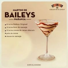 25 drinks recipes with Baileys liquor that will make your mouth water, Baileys Liquor, Licor Baileys, Baileys Cocktails, Bar Drinks, Cocktail Drinks, Cocktail Recipes, Alcoholic Drinks, Beverage, Baileys Recipes