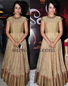 Trisha Floor Length Kameez - Indian Dresses Designer Party Wear Dresses, Indian Designer Outfits, Long Gown Dress, Long Dresses, Maxi Dresses, Frocks And Gowns, Anarkali Dress, Anarkali Suits, Simple Gowns