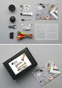 Bare Conductive: The Inventors Kit! Everything you need to bring your projects to life with the Touch Board. http://www.bareconductive.com/shop/touch-board-inventors-kit/