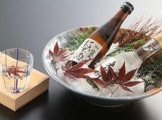料理に色を添える信州の地酒。