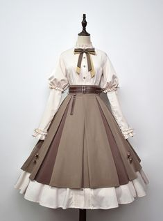 Kawaii Fashion, Lolita Fashion, Cute Fashion, Pretty Outfits, Pretty Dresses, Beautiful Dresses, Old Fashion Dresses, Fashion Outfits, Fairytale Dress