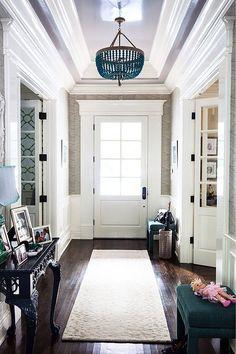 entry & chandelier