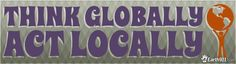 Design your own retro Earth Week bumper sticker to share with your friends: http://earth911.com/bumper-stickers/