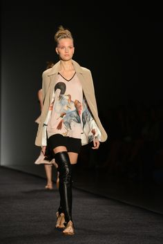 Francesca Liberatore's Spring/Summer 2015 Collection presented at NYFW | Moda & Estilo