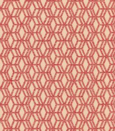 P/K Lifestyles Upholstery Fabric-Turning Point/Berry