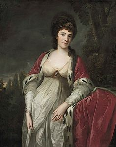 Henrietta Sebright, Lady Harewood by Angelica Kauffman (auctioned by Christies)