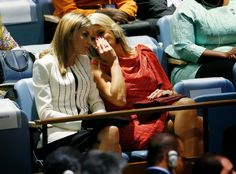 Queens & Princesses - General Assembly of the United Nations. Queen Letizia and Queen Máxima