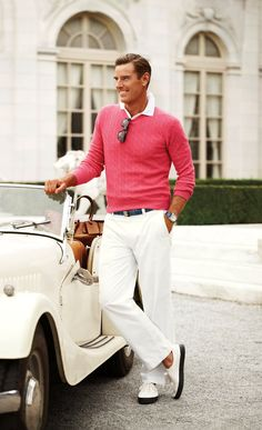 Ralph Lauren available at Luxury & Vintage Madrid, the best shopping site of luxury brands Preppy Boys, Preppy Style, Ivy Fashion, Preppy Dresses, Ivy Style, Preppy Mens Fashion, Ralph Lauren, Herren Outfit, Beach Wear