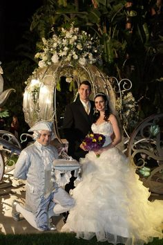 Disney Wedding Hair and Makeup by Fairytale Hair and Makeup www.fairytalehairandmakeup.com