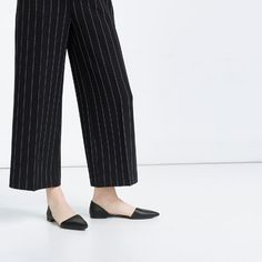 Image 5 of FLAT D'ORSAY SHOES from Zara
