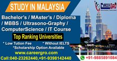 Careergro Overseas Consultant is one of the best study abroad consultants in Hyderabad. We provide best services for study, work and want to migrate abroad. Overseas Education, Ielts, Study Abroad, Higher Education, Computer Science, Studying, Masters, University, How To Plan