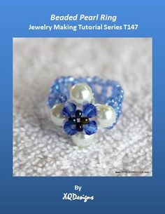 Jewelry Making Tutorials  Learn How To Make Jewelry - Beading & Wire Jewelry Classes : DIY Beaded Pearl Ring Tutorial