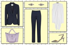 5 Interview Outfits For Badass, Corporate Women #refinery29  http://www.refinery29.com/interview-outfit-essentials