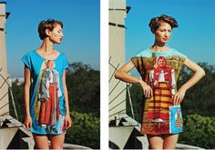 Inspired by traditional Romanian culture,Lana, the Romanian fashion designer # beautiful !!!