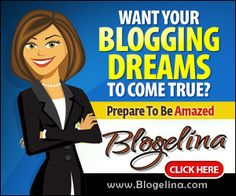 Free 4 week online blogging class from Blogelina. Starts in July
