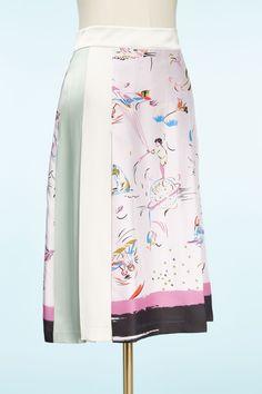 Шовкова спідниця Tory Burch, Presents, Purple, Skirts, Fashion, Moda, Gifts, Skirt Outfits, Fasion