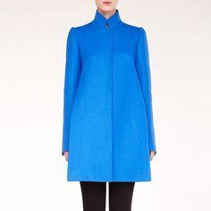 Dense Wool Spike Coat - Stella McCartney