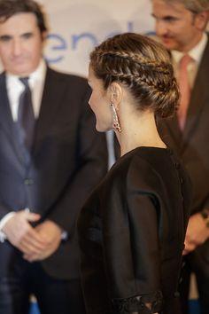 letizia-junco-1a Bride Hairstyles, Pretty Hairstyles, Natural Hair Styles, Short Hair Styles, Beautiful Braids, Hair Dos, Hair Hacks, Hair Inspiration, Boho Chic