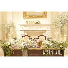 Main Table Wedding Sets, Wedding Table, Wedding Colors, Wedding Bouquets, Wedding Dresses, Party Items, Wedding Images, Reception, Bridesmaid Dresses