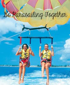 Best Buddy Bucket List:  Go parasailing together omg! Have already done this with aubrey hardcastle!