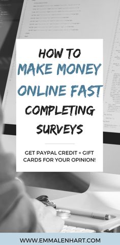 Want to make money fast as a college student? Find out how to complete online surveys for companies and get paid directly to your bank account for giving your opinion. Get PayPal credit and gift cards!
