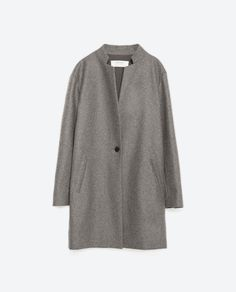 Image 8 of MASCULINE WOOL COAT from Zara