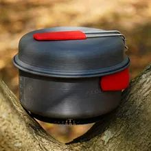 Alocs Camping Cookware Pots and Pans Set, Cooking Equipment Camp Backpacking Gear for Hiking Fishing Picnic Outdoor Lightweight | TravelTresure Pots And Pans Sets, Cooking Equipment, Travel Products, Backpacking Gear, Pan Set, Cookware, Picnic, Road Trip, Fishing
