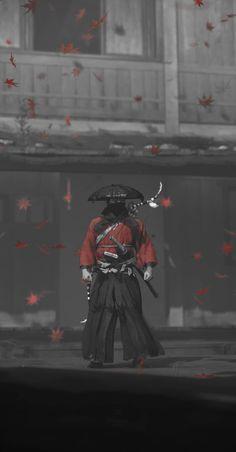 Comic Style Art, Comic Styles, Vagabond Manga, Samurai Wallpaper, Asian Wallpaper, Samurai Artwork, Ninja Art, Ghost Of Tsushima, Japanese Drawings