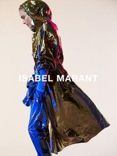 Raquel Zimmermann by Inez van Lamsweerde Vinoodh Matadin for Isabel Marant Spring Summer 2016 2