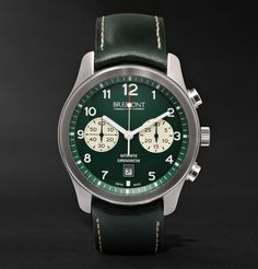 BremontALT1-Classic/GN Automatic Chronograph Watch|MR PORTER
