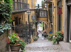 Bellagio, Italy on Lake Como. Bellagio Italie, Italian People, Lake Como Italy, Destinations, Italian Beauty, Genoa, Rome, Road Trip, England