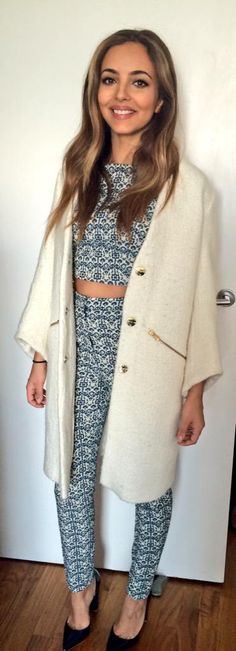 Anyone recognise this @ASOS two piece? Mixers remembering might get a cheeky follow  coat/heels @ZARA xxjadexx