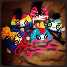 A Berocca Boost by EssHaych, via Flickr **I love their eyes!!** NO Pattern link