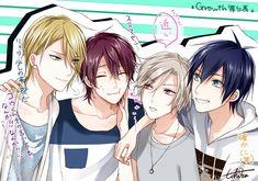 Read //Growth (*≧∀≦*) from the story tsukipro . by (yuki h. I dunno Growth is just LIKE AMAZING their. Chibi Boy, Anime Chibi, Kawaii Anime, Manga Anime, Anime Art, Anime Boys, Tsukiuta The Animation, Photo Editing Tools, Handsome Anime Guys