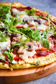 Vegetarian Recipes, Healthy Recipes, Healthy Food, Big Meals, Slow Food, I Foods, Vegetable Pizza, Clean Eating, Food And Drink