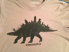 Raygun Iowasuarus shirt