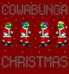 Cowabunga Christmas TMNT
