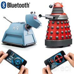 Neu Doctor Who Smartphone Betrieben Dalek Oder K-9 Fernbedienung iPhone Android