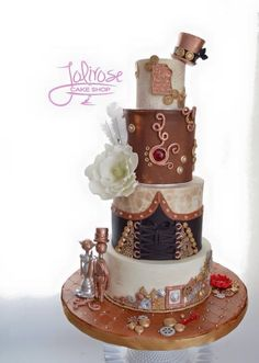 Ƹ̴Ӂ̴Ʒ Sweet Ƹ̴Ӂ̴Ʒ Steampunk Bakery ~ Jolirose Cake Shop